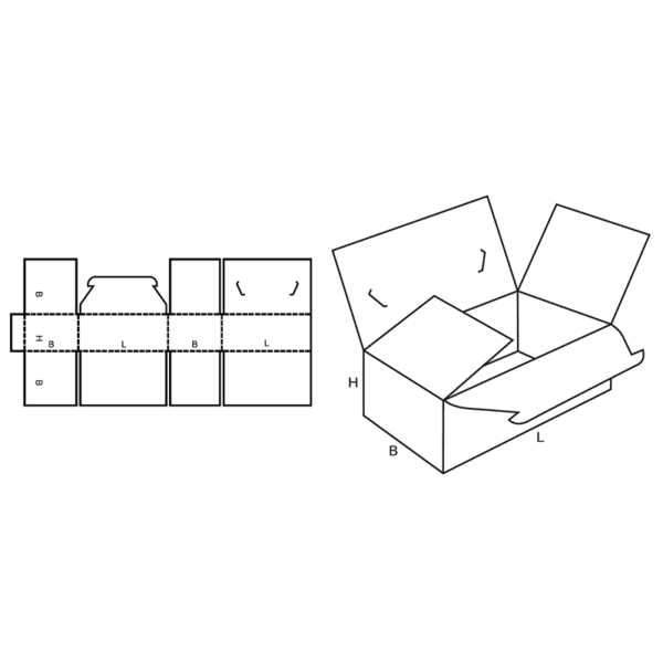 Fefco 0218 Boxes