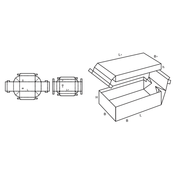 Fefco 0322 Boxes