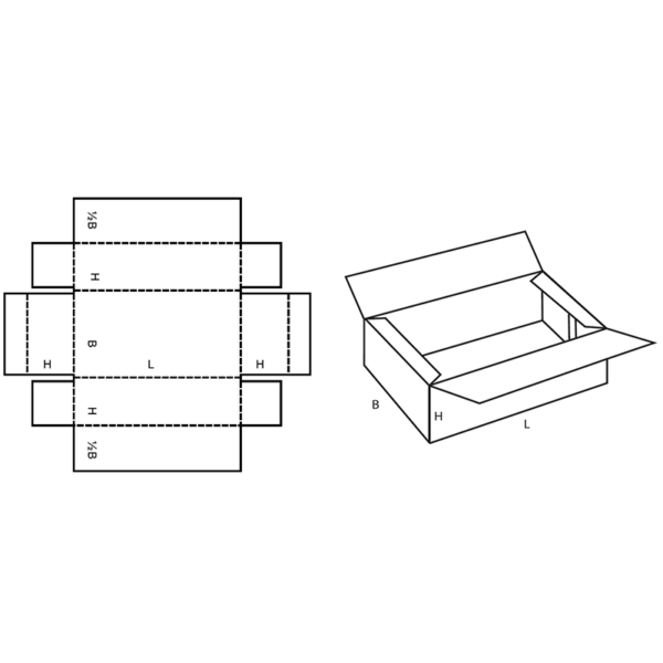 Fefco 0415 Boxes