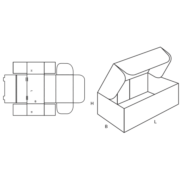Fefco 0426 Boxes