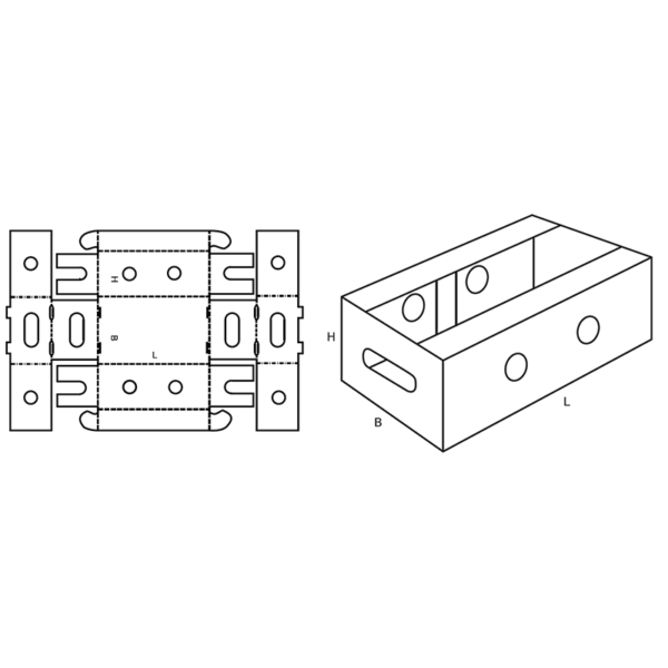 Fefco 0432 Boxes