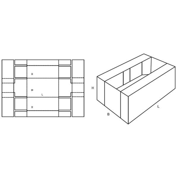 Fefco 0433 Boxes