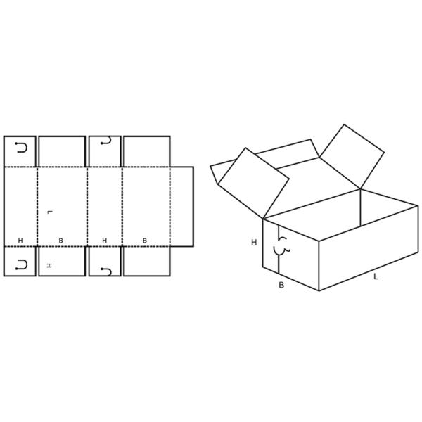 Fefco 0442 Boxes