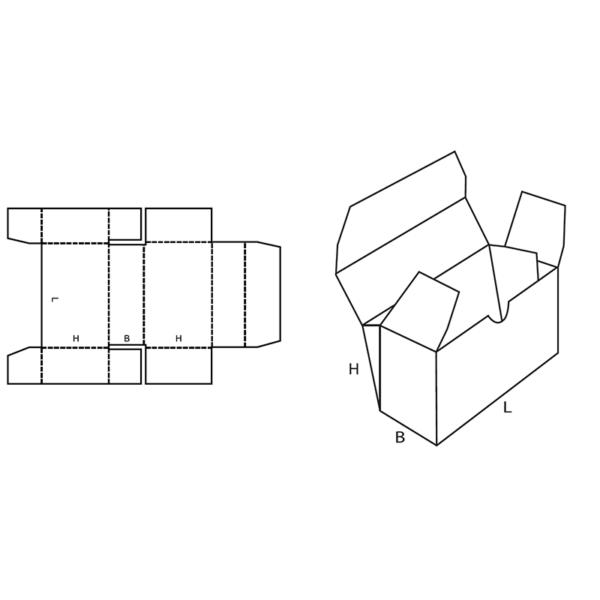 Fefco 0444 Boxes