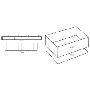 Fefco 0504 Boxes