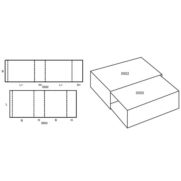 Fefco 0505 Boxes