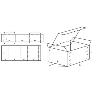 Fefco 0511 Boxes