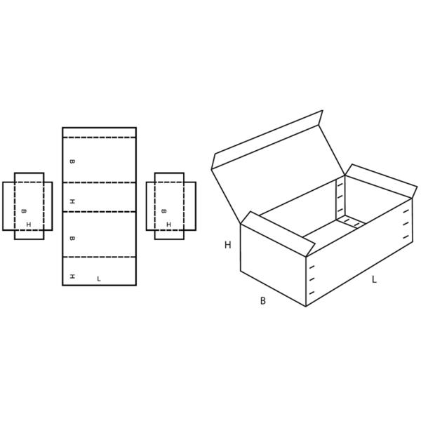 Fefco 0608 Boxes