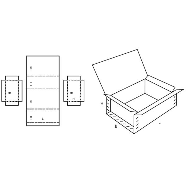 Fefco 0610 Boxes